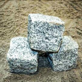 Chaussesten (Håndhugget Granit) Grå