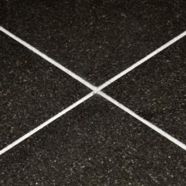 New Indian Black Poleret Granitflise